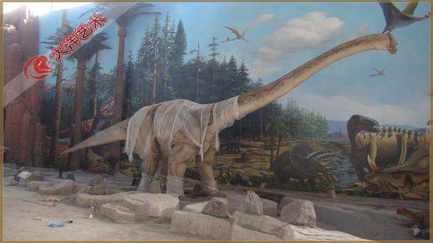 2012年9月 西峡恐龙园安装完成