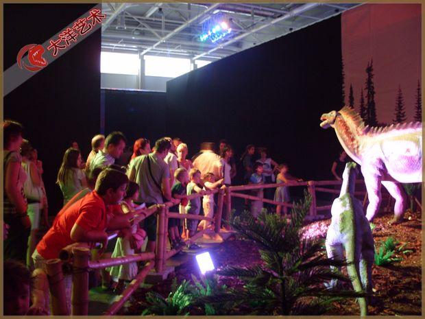 匈牙利恐龙科普展览