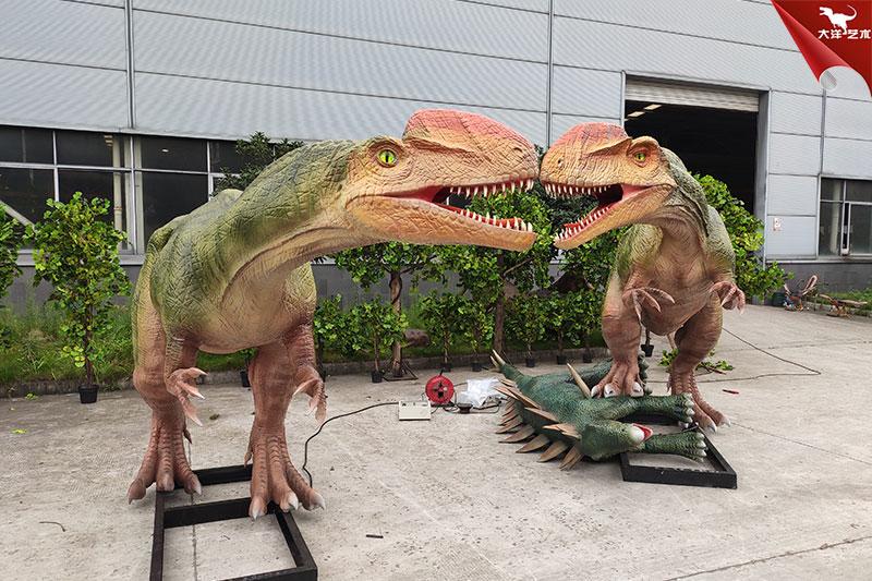 单脊龙-仿真恐龙制作