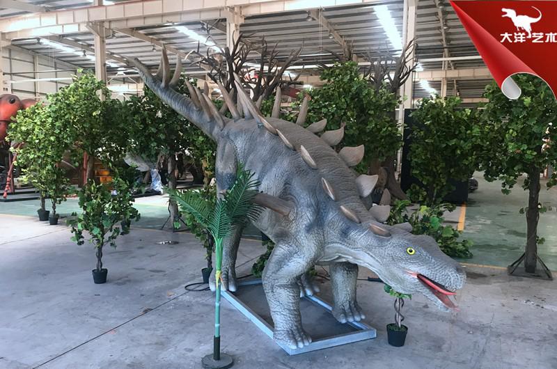 仿真钉状龙-提供恐龙模型租售服务