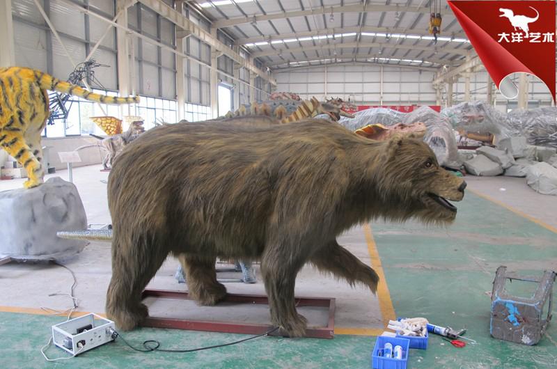 仿真熊模型-仿真动物制作