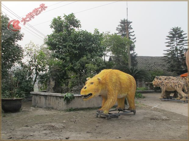 简单动物雕塑步骤图片